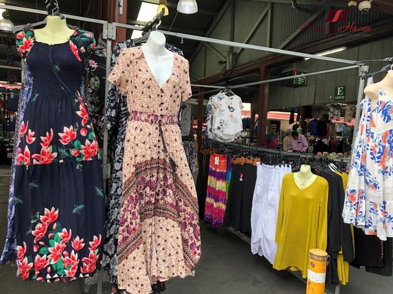 melbourne shopping queen victoria market dresses