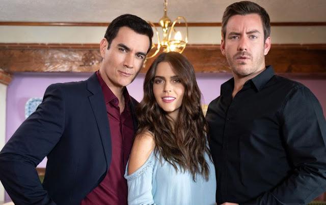 David Zepeda, Claudia Álvarez, Juan Diego Covarrubias