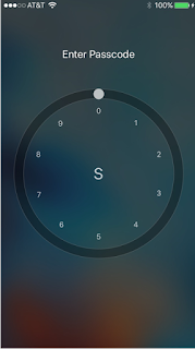 cydia tweak that brings another passcode alternative or rotary style passcode interface where you can unlock your device by scrolling it like an old telephone