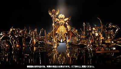 """Myth Cloth EX O.C.E. Odysseus de Ophiucus de """"Saint Seiya Next Dimension"""" - Tamashii Nations"""