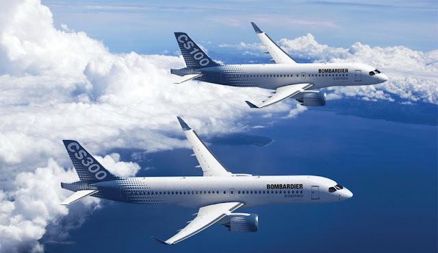 Bombardier CS100 and CS300 Series