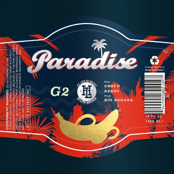 G2 – Paradise (feat. Sway D & Reddy) – Single