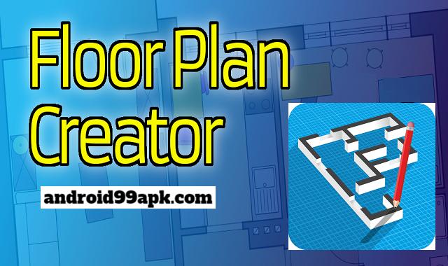 تطبيق Floor Plan Creator v3.4.2 النسخة المدفوعة بحجم 3.55 MB للاندرويد