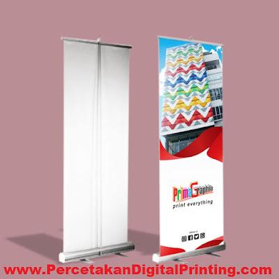 Contoh Desain ROLL UP BANNER Dari Percetakan Digital Printing Terdekat