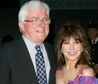 Marge Cooney with her former spouse Phil Donahue