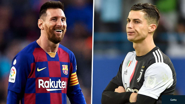 Ronaldo has Messi as 'number one' but snubs CR7 in top five