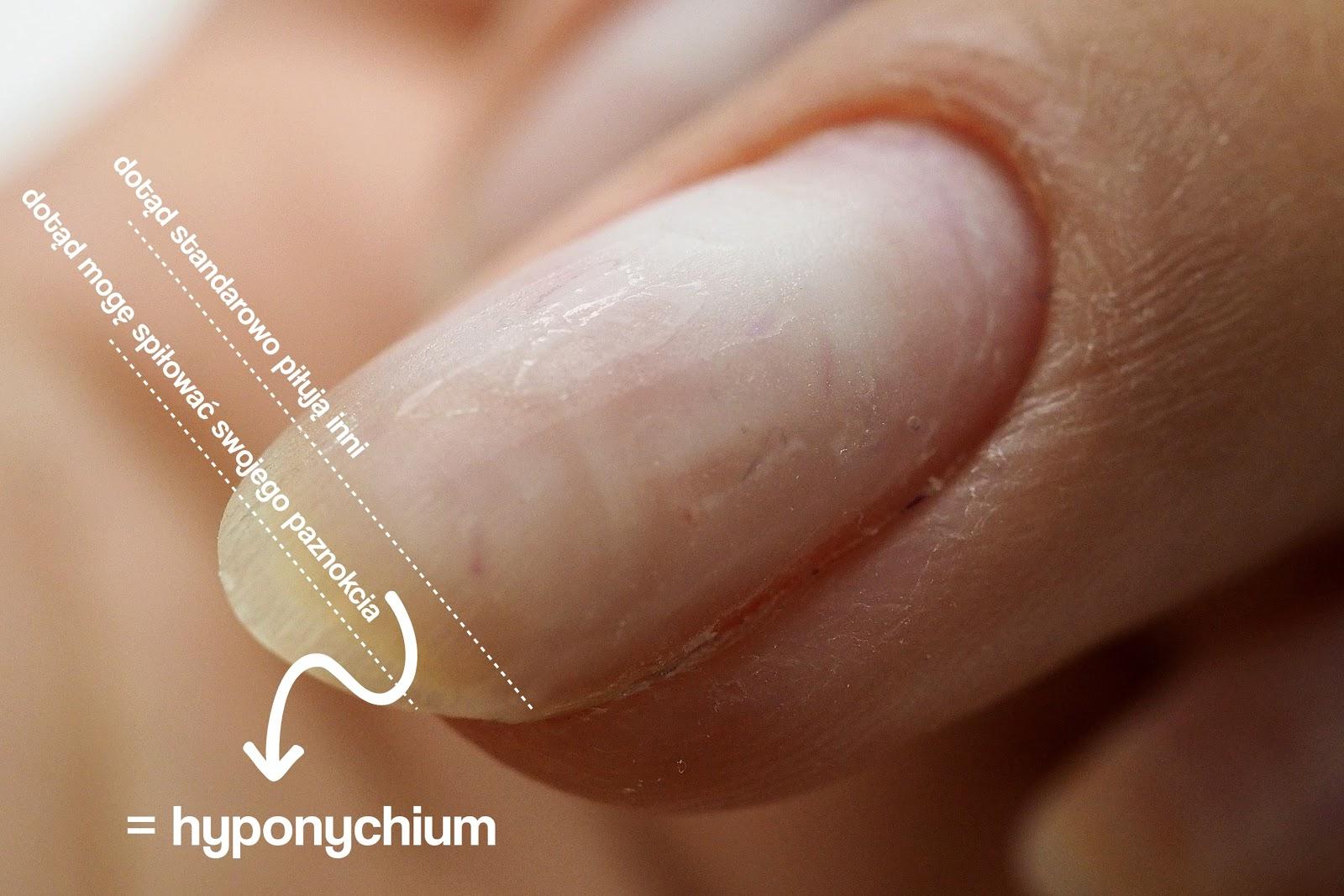 skracanie paznokci