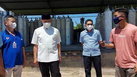 Sumbar Dapat Bantuan Oksigen 30 Ton dari Pemprov Riau