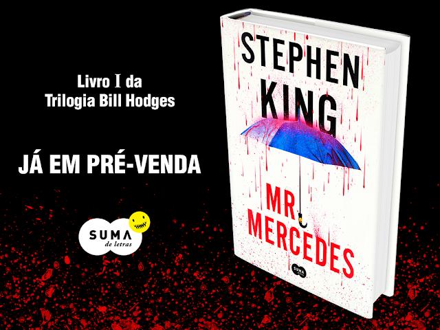 Divulgação | Pré - Venda Mr. Mercedes - Stephen King