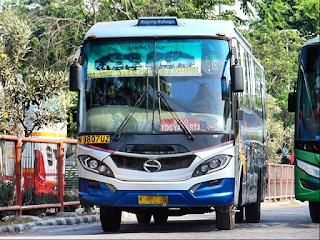 Bus Sugeng Rahayu Solo