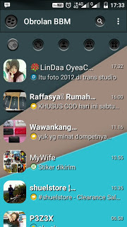 BBM MOD Dark Shade Of Grey v3.0.1.25