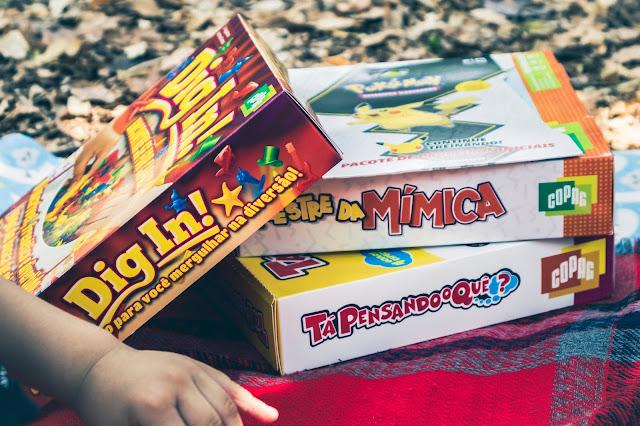 4 jogos para se divertir com as crianças
