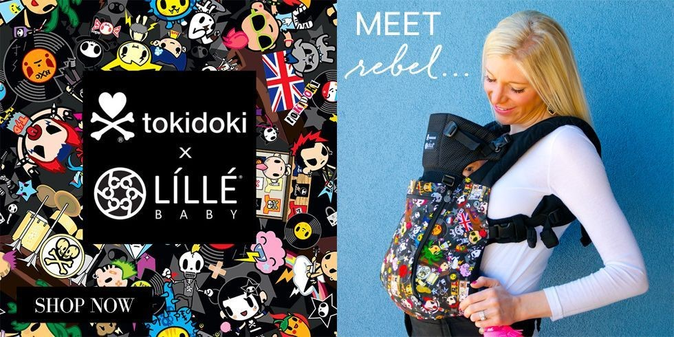 d6c396f1aff ... feature new styles in the LÍLLÉbaby® All Seasons range and is the first  ever Tokidoki carrier. The first collection features the Tokidoki Rebel  pattern.