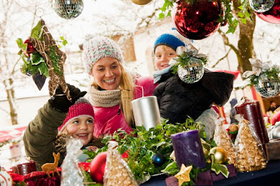 Kid's activities for the holidays - an infowrap