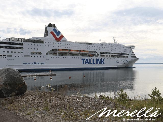 Tallink Victoria Saarenmaan satama Ninase