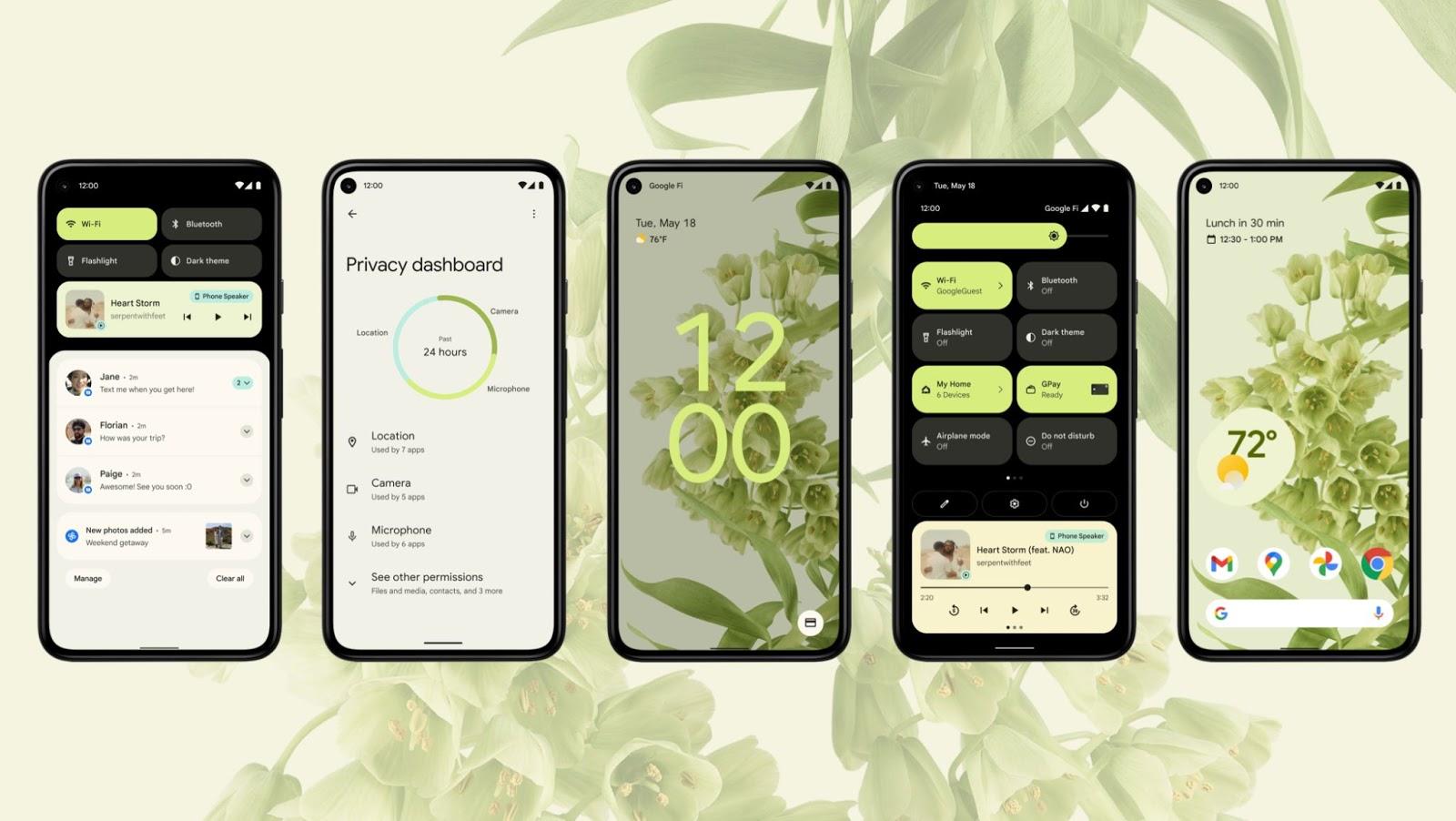 Android 12 visual