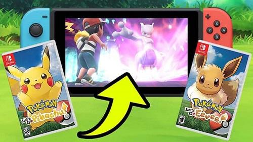 Dường như coi Pokemon Let's Go là bạn dạng của Pokemon GO cho đời máy Nintendo Switch