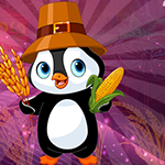Play Games4King - G4K Virtuous Farmer Penguin Escape