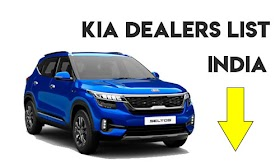 KIA Dealers list with address available in India