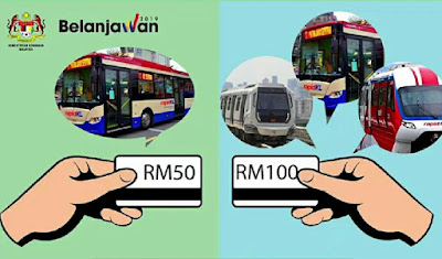 Pendaftaran Pas Pengangkutan Awam Tanpa Had Bulanan RM100 2019