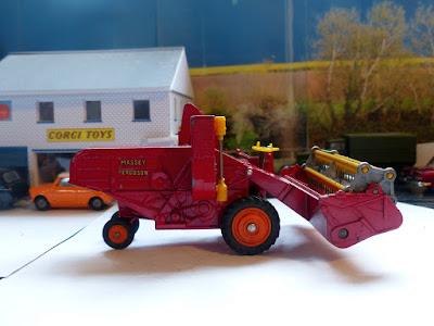 1111 Massey Ferguson Combine Harvester