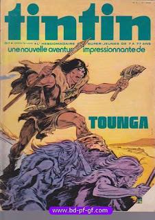 couverture Tounga