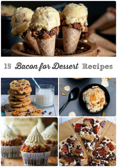 If you love the flavor combination of sweet & salty, then you are going to just love this recipe round-up of 15 Bacon for Dessert Recipes.