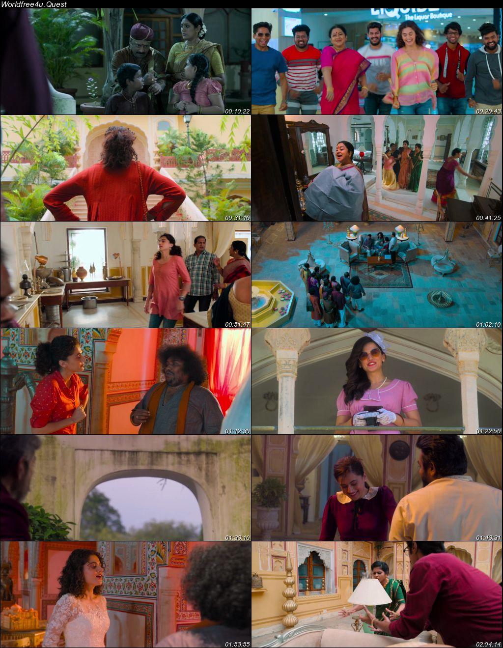Annabelle Sethupathi 2021 Hindi Dubbed Movie Download    HDRip 1080p    720p    480p