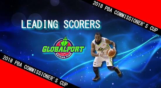 List: Leading Scorers GlobalPort Batang Pier 2018 PBA Commissioner's Cup
