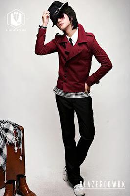 blazer cowok blazercowok.com jaket korean jas pria sk22 f