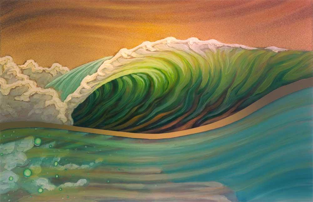 Kelly surfer adore la surprise de diana prince 7