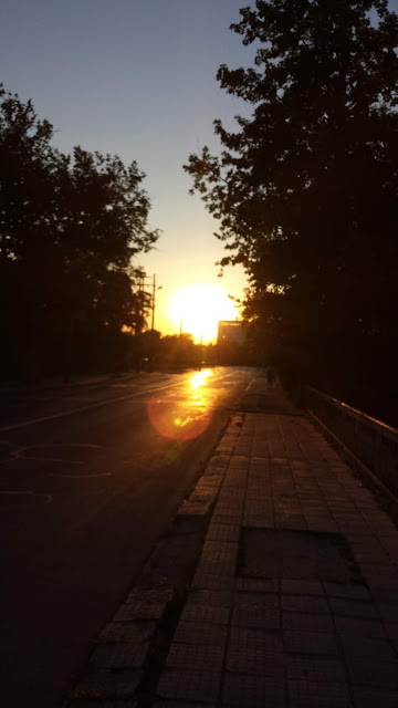 Sunset, Yambol, Road, Sliven,
