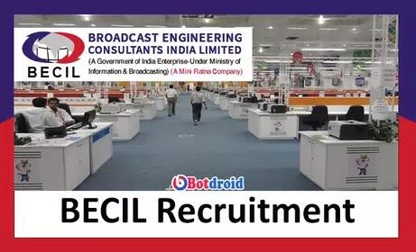 BECIL Recruitment 2021, Apply Online for BECIL Vacancy, BECIL Careers