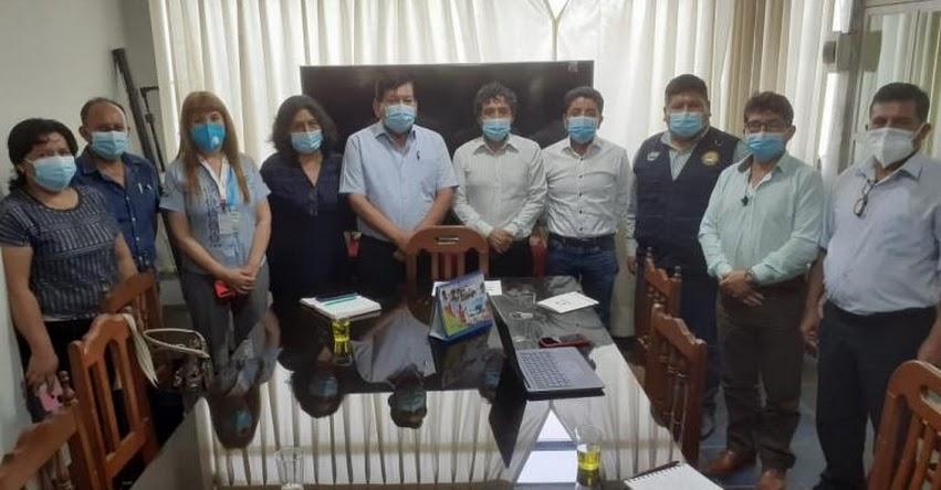 FONDEP se reunió con autoridades y especialistas de Madre de Dios