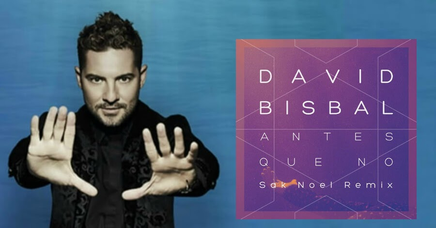 Descarga la musica de David Bisbal - Antes Que No (Sak Noel Remix) en mp3