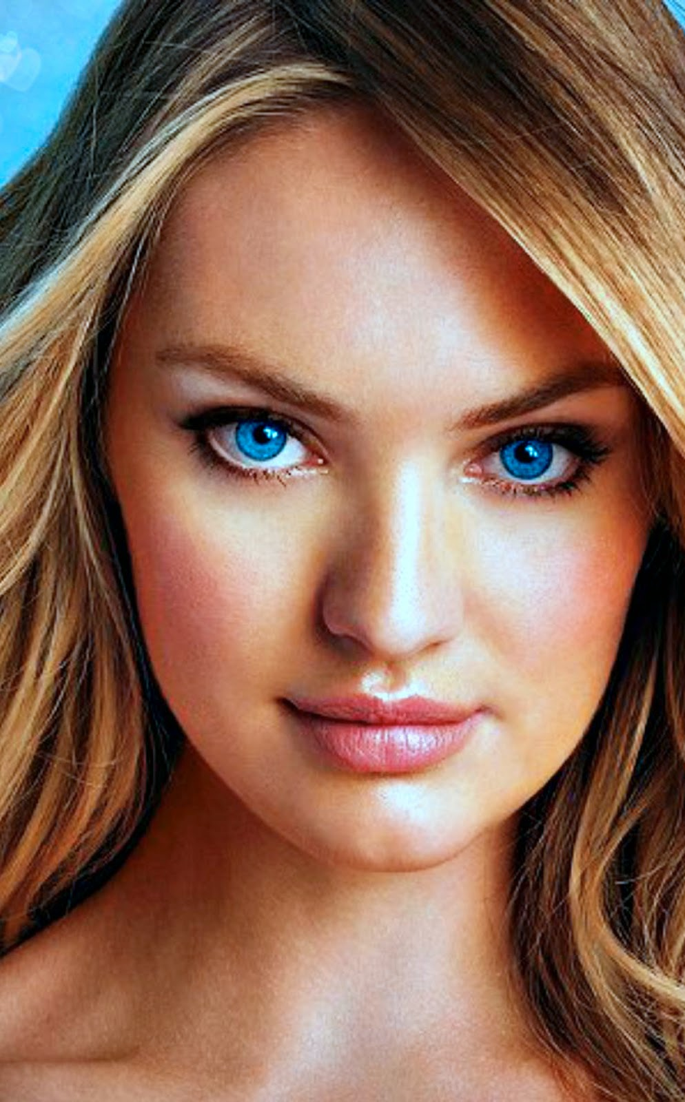 CANDICE SWANEPOEL BIG BLUE EYES CLOSE UP 1932 X 1200 Candice Swanepoel, Victoria's Secret, wallpaper,