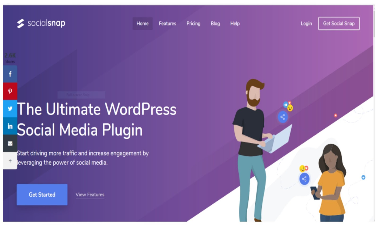 Social Snap WordPress Plugin