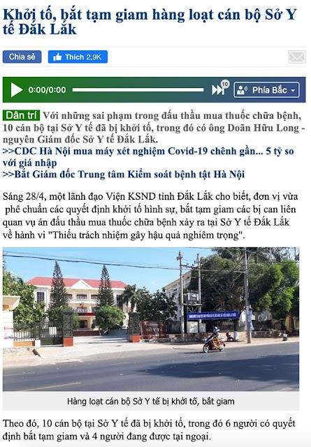 Nữ nhà báo Hoang Thiên Nga trải lòng về cuộc chiến với ổ nhóm tham nhũng tại sở y tế Đắk Lắk