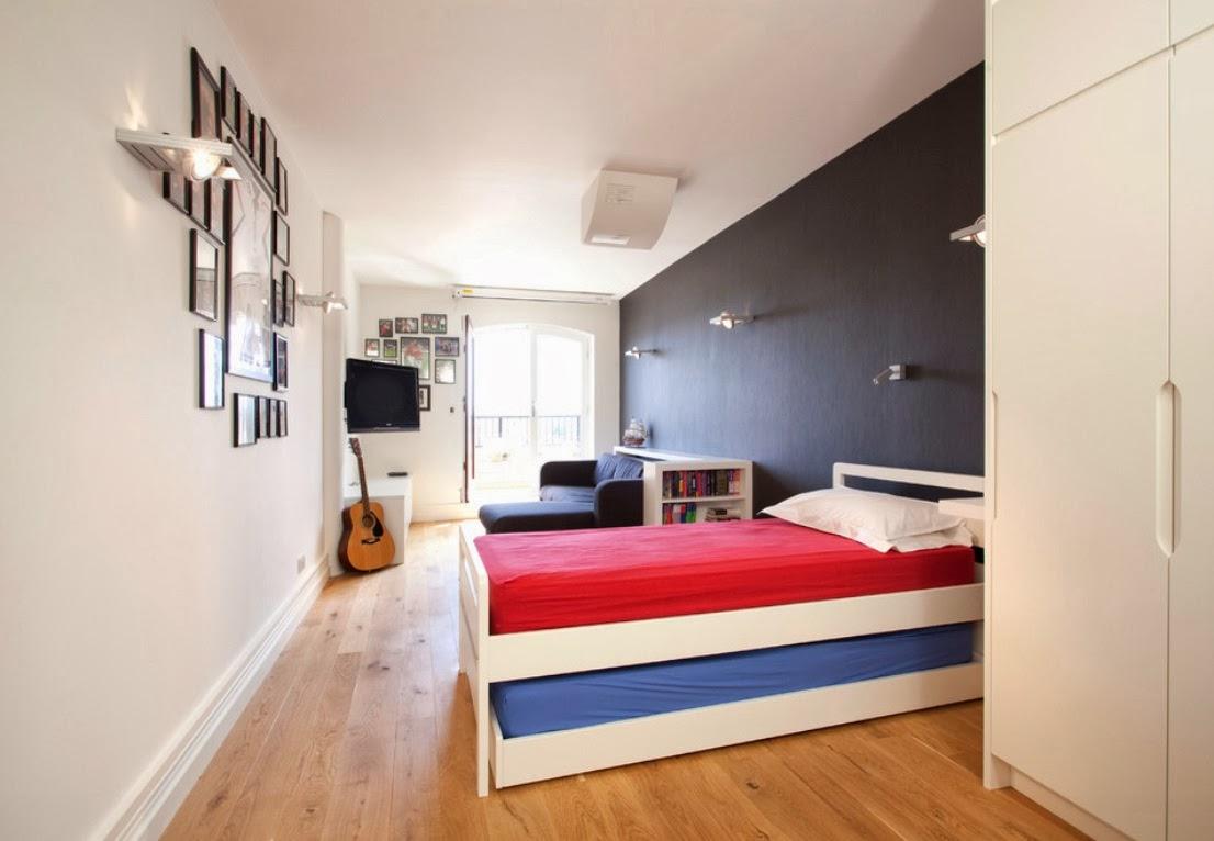 desain kamar tidur anak remaja laki laki