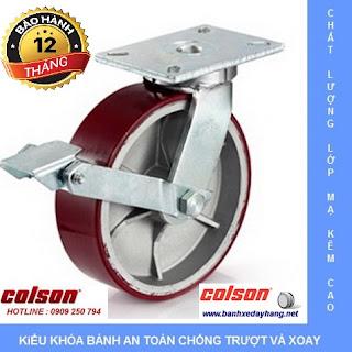 Báo giá bánh xe chịu lực Colson Mỹ tại An Giang www.banhxedayhang.net