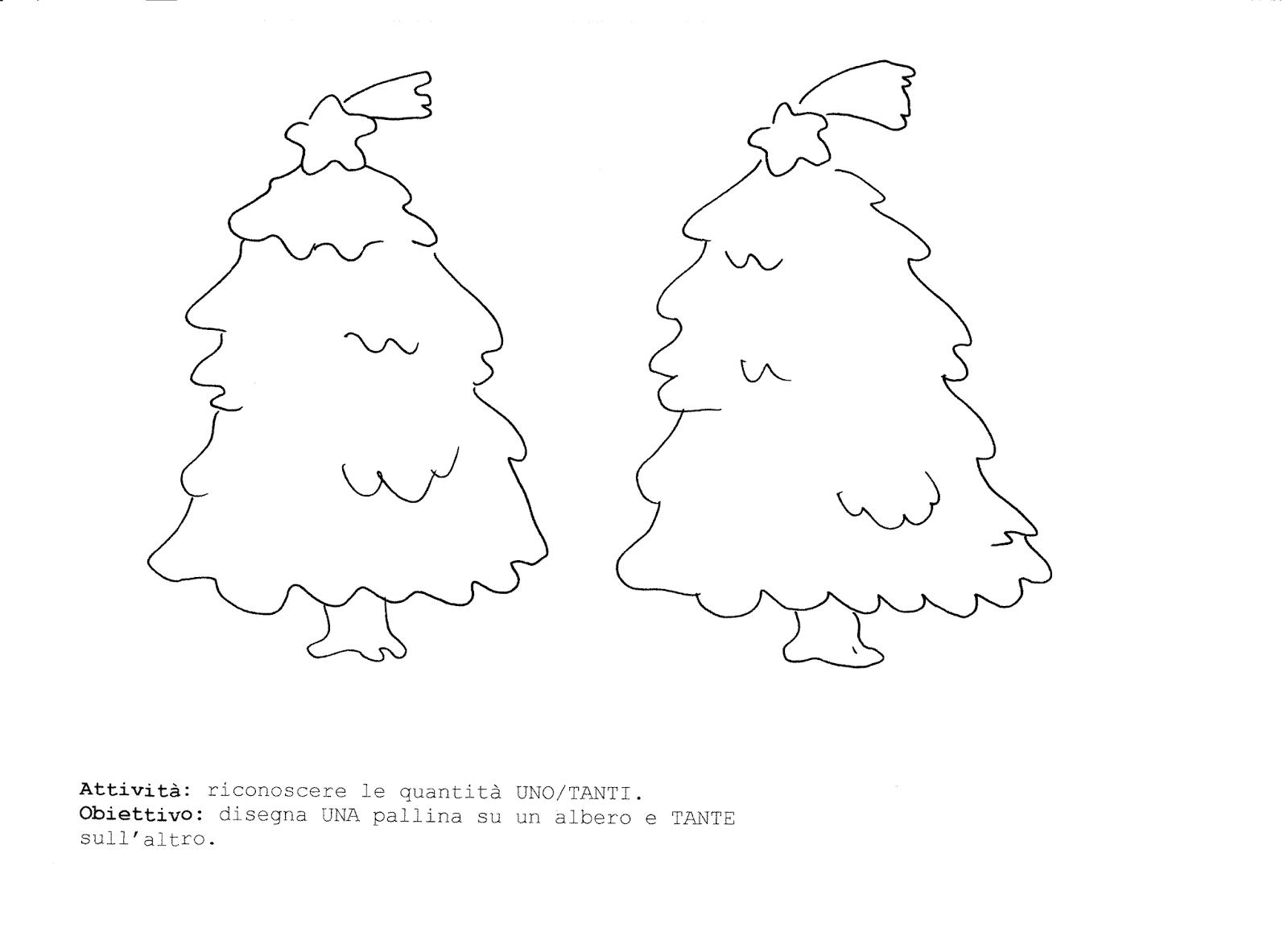 Maestre Da Colorare: La Maestra Linda: Schede Natale Da Colorare: L'albero
