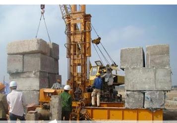 Cọc bê tông cho công trình