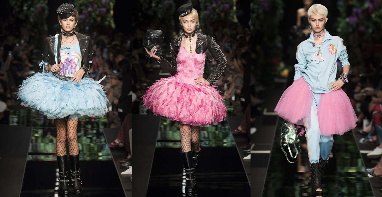 #MFW: Moschino's Spring/Summer 18 Runway Report