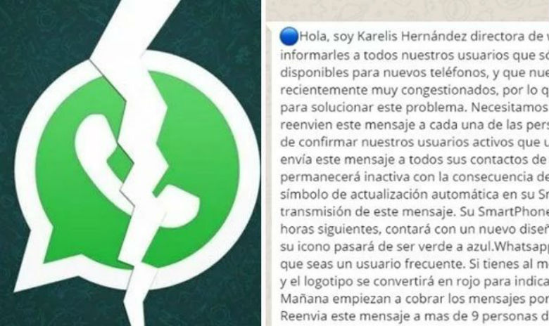 Whatsapp: Mensaje viral que no debes creer