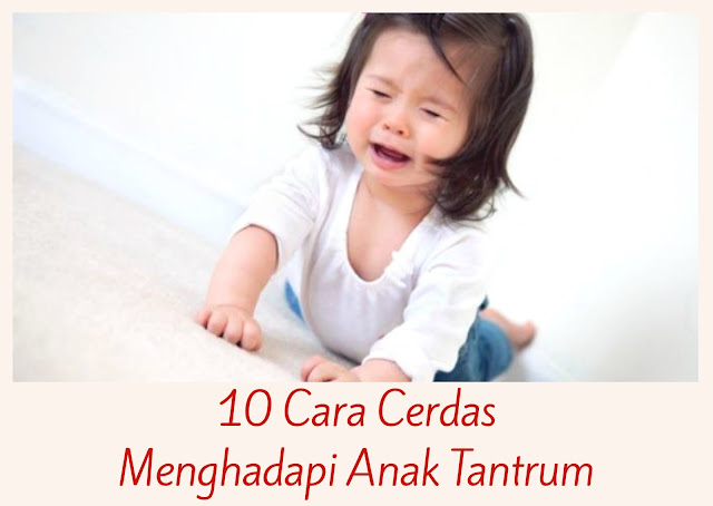 10 Cara Cerdas Menghadapi Anak Tantrum