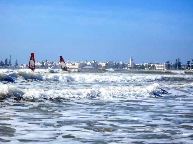 Windsurf in Essaouira, Morocco