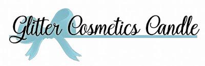 Glitter Cosmetics Candle logo