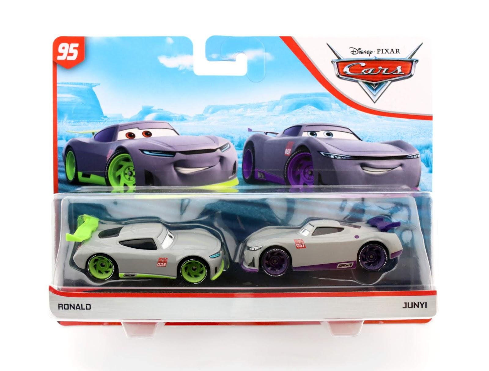 Dan The Pixar Fan Cars 3 Ronald Junyi 2 Pack