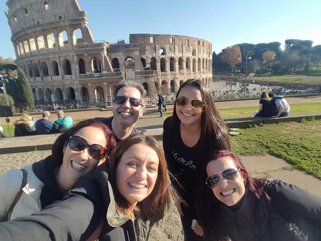 Passeio Coliseu Roma portugues - O Coliseu para brasileiros