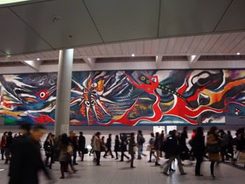岡本太郎 巨大壁画
